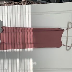 Aritzia Dusty Rose Dress